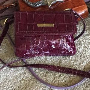 Relic Burgandy Small Crossbody Bag